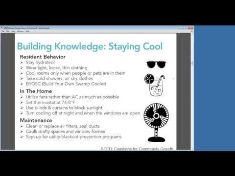 Keep Cool this Summer: Energy Saving Tips Webinar