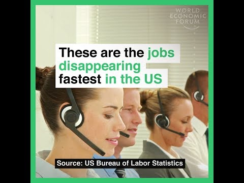 These are the jobs disappearing fastest in the US