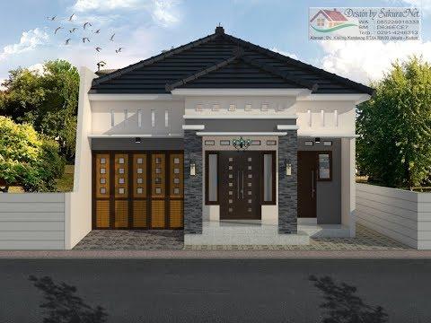 Rumah Minimalis Lantai 1 Modern House 8x14