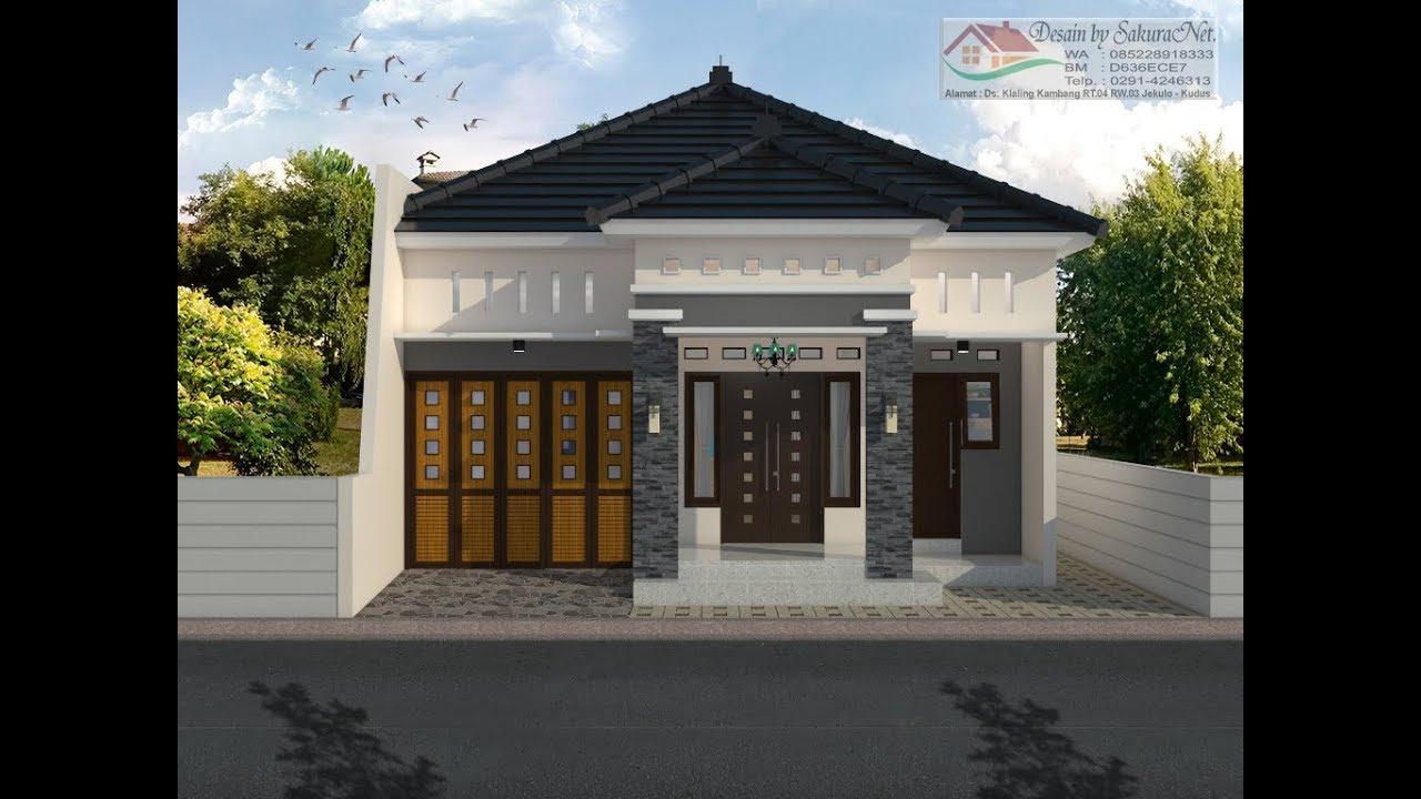 Rumah Minimalis Lantai 1 Modern House 8x14 Youtube