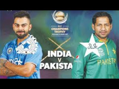 ICC Champion Trophy 2017    4th Match  PAK Vs  INDIA