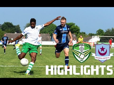 Cabinteely F.C. -v- Drogheda United Highlights
