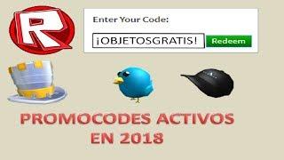 Roblox Tutorial #2 All Active Promocodes 2018