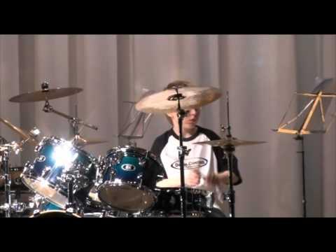 Drum-Solo Dana & Sebastian - Drum-Control Ensemble - Tromerama 2011