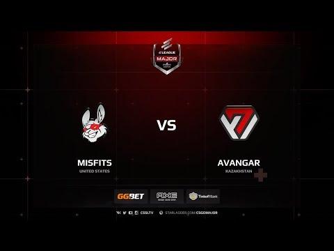 Misfits vs Avangar, ELEAGUE Major Boston 2018 Main Qualifier