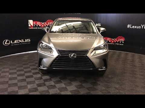 Silver 2018 Lexus NX Standard Package Review Edmonton Alberta - Lexus of Edmonton