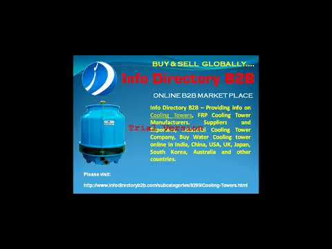 Cooling Tower Manufacturer, Suppliers & Exporters - INFODIRECTORY B2B.
