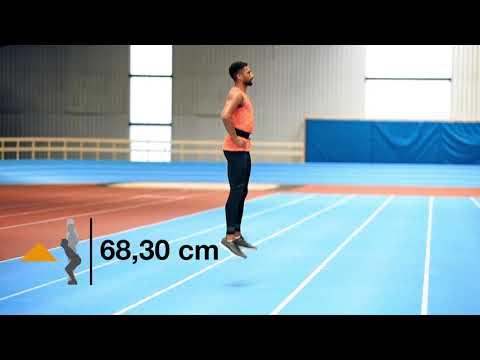 Polytan SmarTracks Standard Test – Squat Jump