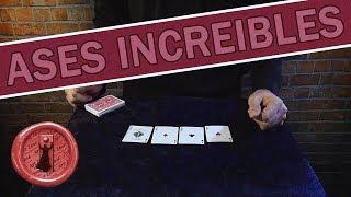 El MEJOR truco con cartas del MUNDO - Mi mejor truco con Ases hasta el momento