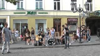 Одесские уличные музыканты. Класс!!! 2014