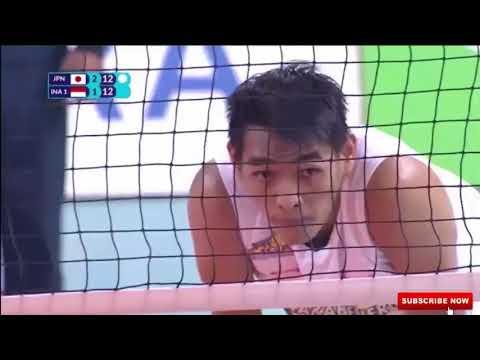 Detik Detik Rivan Dan Kawan Kawan Mengamuk Di Set 4 Tournamen Volley Asian Games 2018