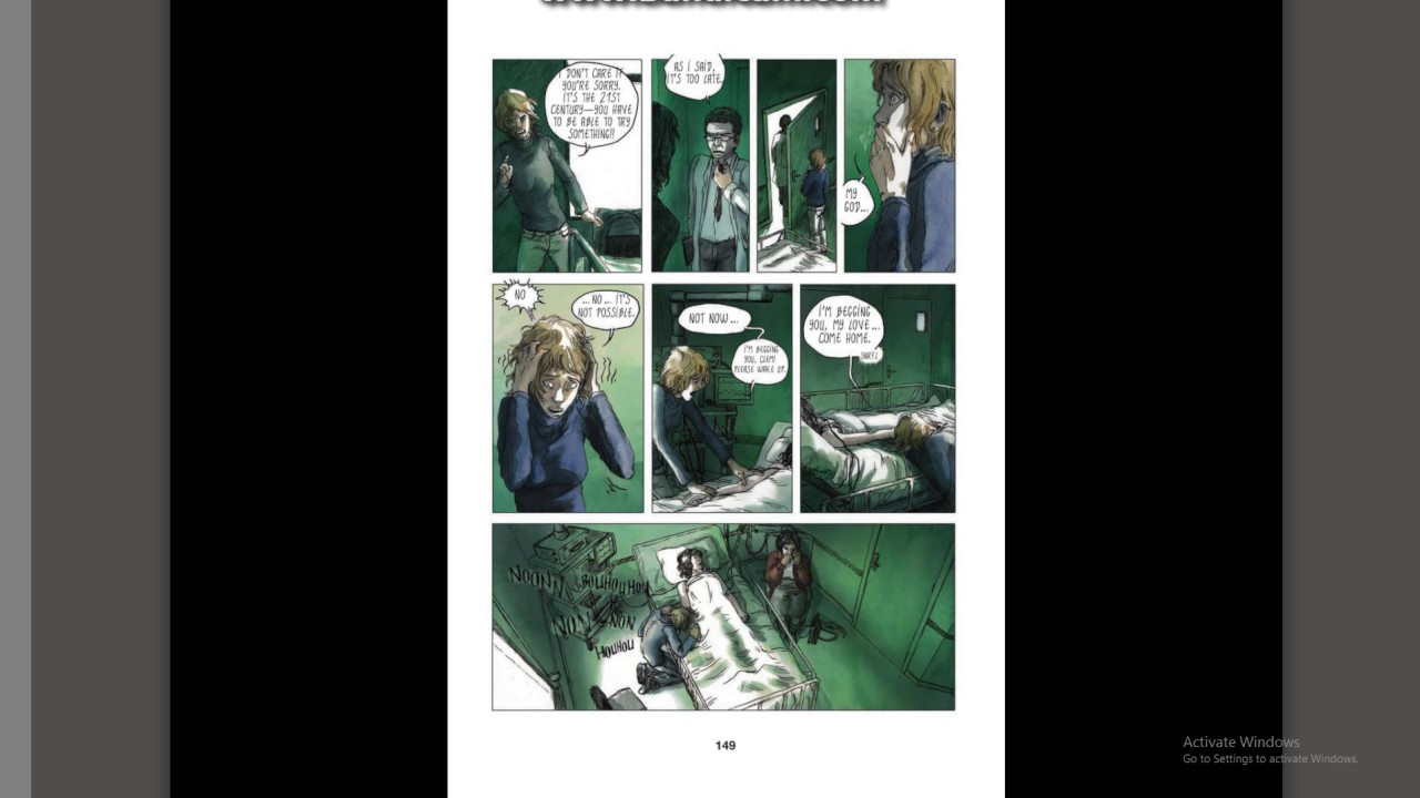 Blue is the warmest color - complete comic book - part 2 - YouTube