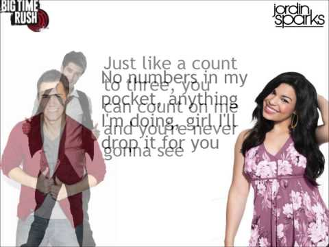 Big Time Rush Count On You Lyrics feat Jodin Sparks