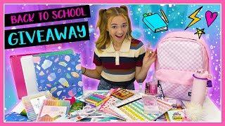 KAYLA'S HUGE BACK TO SCHOOL SUPPLIES GIVEAWAY 2019! | Kayla Davis