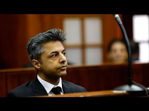 Watch: Shrien Dewani appears in court at murder trial of his wife Anni