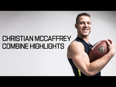 Christian McCaffrey (Stanford, RB) | 2017 NFL Combine Highlights