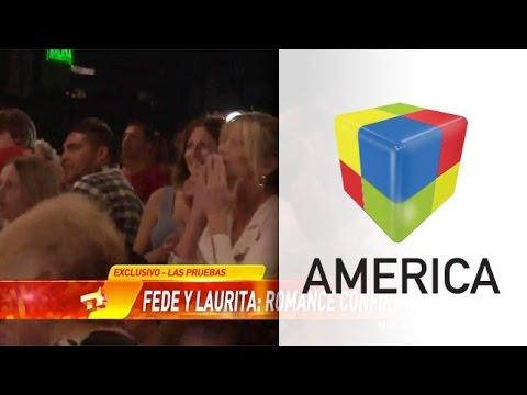 ¡Laurita Fernández le gritó Te Amo a Fede Bal!