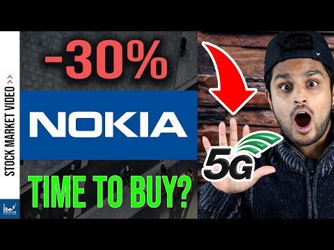 This 5G Stock Crashed 30% (Is NOK Stock A Buy In 2020?)