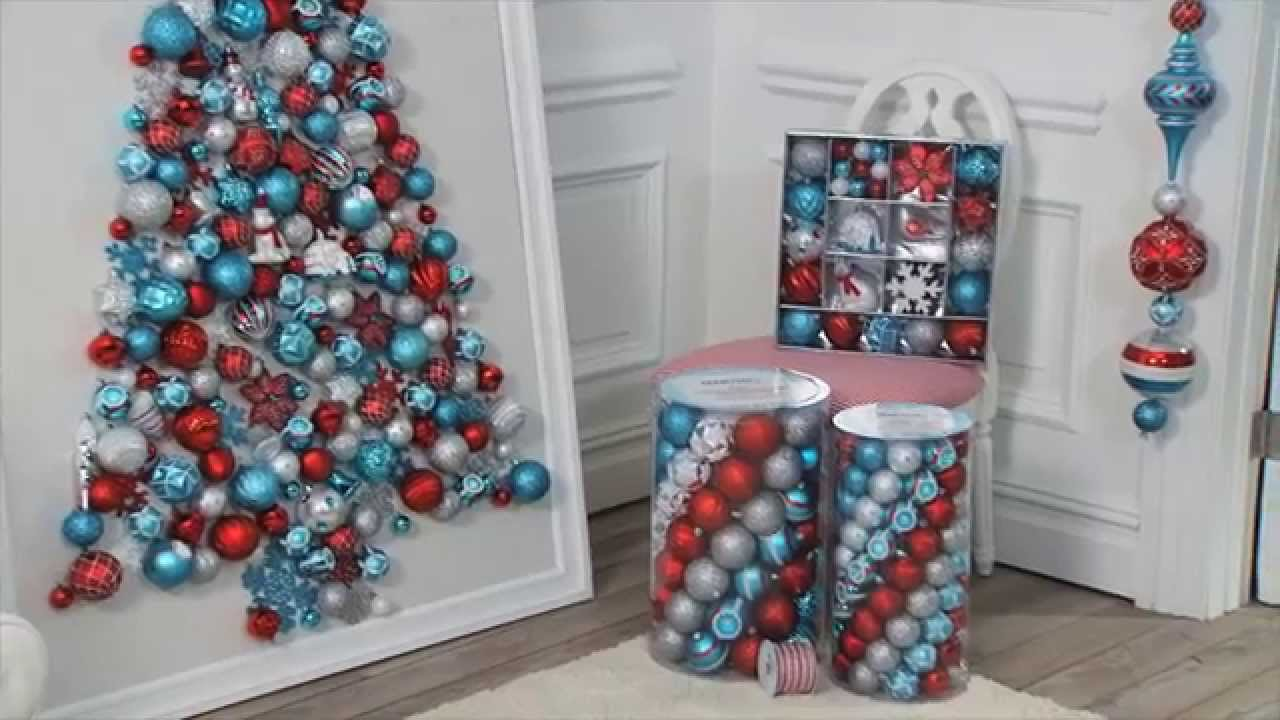 ask martha how to make an ornament tree youtube - Martha Stewart Christmas Tree Decorations