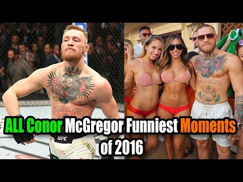 Conor McGregor FUNNIEST Moments