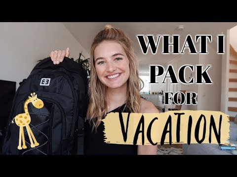 How I Pack For Vacation | Model Travel Essentials, Fashion, My Carry On, & Skincare | Sanne Vloet