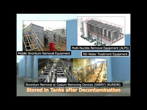 Contaminated Water Processing ~Multi-Nuclide Removal Equipment (ALPS)~