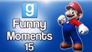 Gmod Ep. 15 Sandbox (Evil Mario, Banana Bus Torture, Mall Ride, Monster 1v1s)