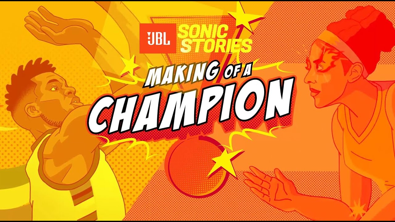 JBL | Sonic Stories: Making of a Champion with #TeamJBL's Giannis Antetokounmpo and Candace Parker