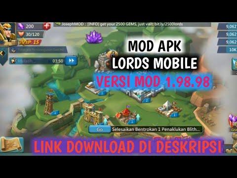 APK MOD LORDS MOBILE-V.1.98.98(LINK DOWNLOAD DI DESKRIPSI)