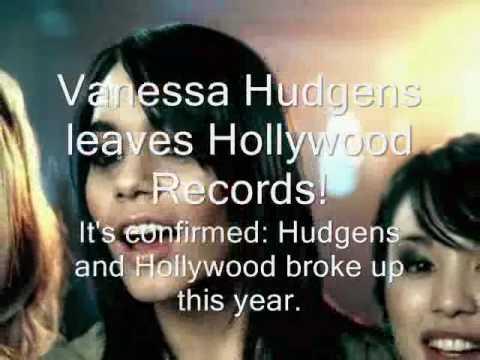 Vanessa Hudgens leaves Hollywood Records