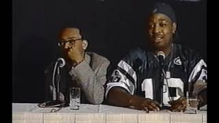 Video Explosion Interview He Got Game Press Conference (Spike Lee & Chuck D) 1998