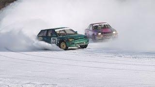 Автосоветы Гонки на льду Подготовить авто к гонке Гоночные машины Скользкая дорога
