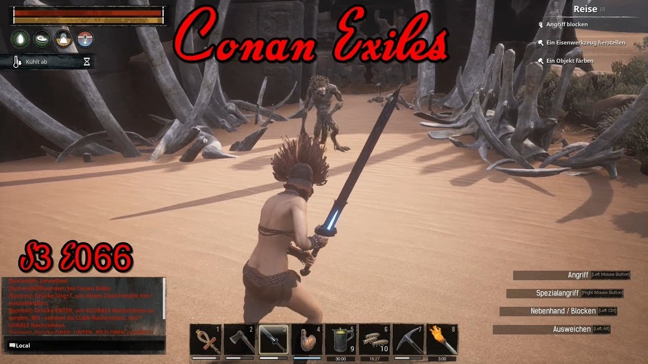 Er kam sah und ... ENDEஓ Conan Exiles ஓ [S3E066][German] - YouTube
