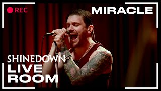 "Shinedown ""Miracle"" captured in The Live Room"