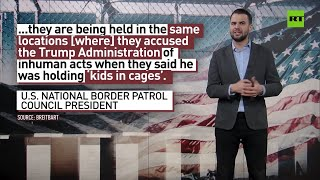 MSM, why so silent? | Biden reopens detention site for migrant teens