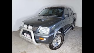 (SOLD) 4x4 Turbo Diesel Manual Dual Cab Ute Mitsubishi Triton GLX-R 2005 Review