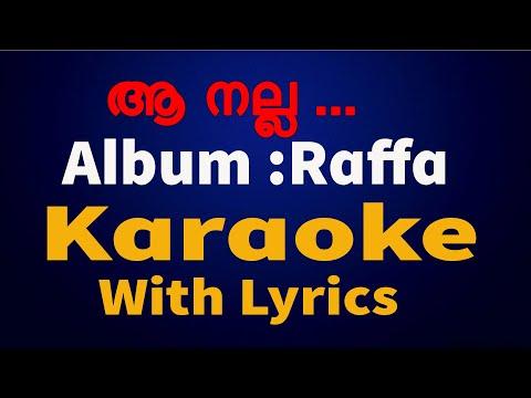 Super Hit Christian Devotional Karaoke with Lyrics Album Raffa   Aa Nalla