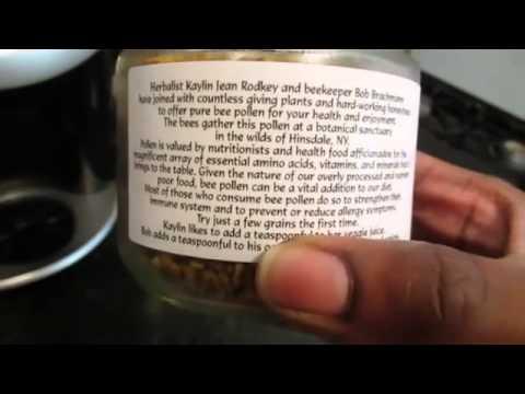 Quick Health Tip Raw Bee Pollen