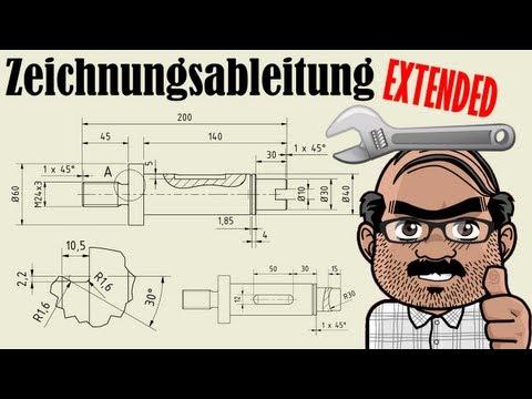 Autodesk Inventor Tutorial – Zeichnungsableitung Extended