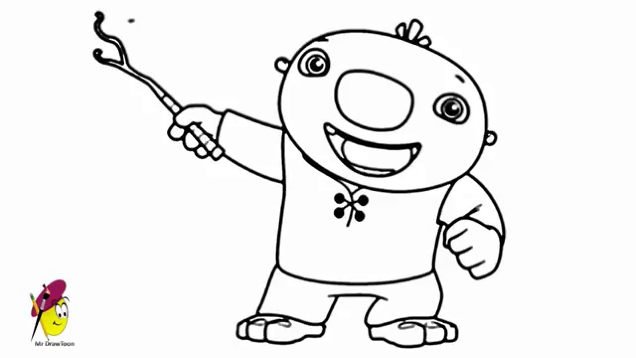 wallykazam coloring pages stan - photo #8