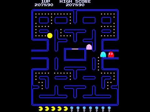 PACMAN PUCKMAN 40TH KEY PATTERN WITH TUNNEL TRICKANOMALY RETRO Awesome Pacman Pattern