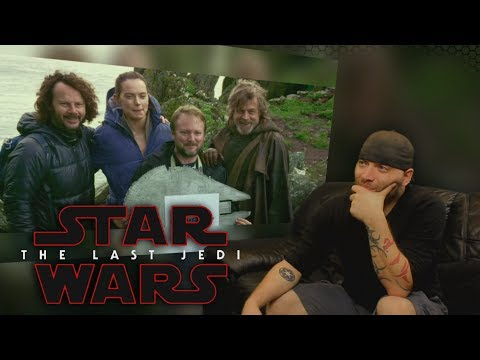 Star Wars : The Last Jedi Behind The Scenes REACTION