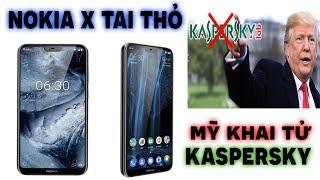 Nokia X tuyệt đẹp có tai thỏ chính thức ra mắt, Kaspersky bị Mỹ cấm sử dụng