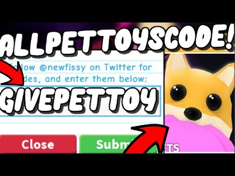 Roblox Adopt Me Pets Toys All Adopt Me Pet Toys Update Codes 2019 Adopt Me New Neon Pets Toys Update Roblox Youtube