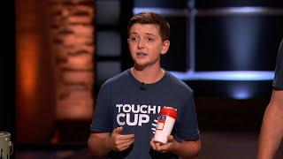 A 15-Year-Old Entrepreneur Impresses the Sharks - Shark Tank