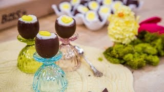 How to Make Homemade Cadbury Eggs Filled with Cheesecake Filling