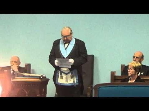 First Responders Dedication, Masonic Lodge, Hometown, 5-20-2015