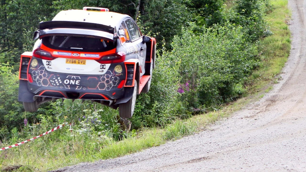 Mads Ostberg / Ford Fiesta RS WRC / Test - Neste Rally Finland 2017