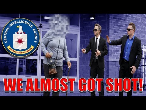 CIA PRANK GONE WRONG! *HELD AT GUNPOINT*