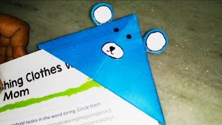 How to make paper bookmarks/simple bookmarks craft ideas/kids craft